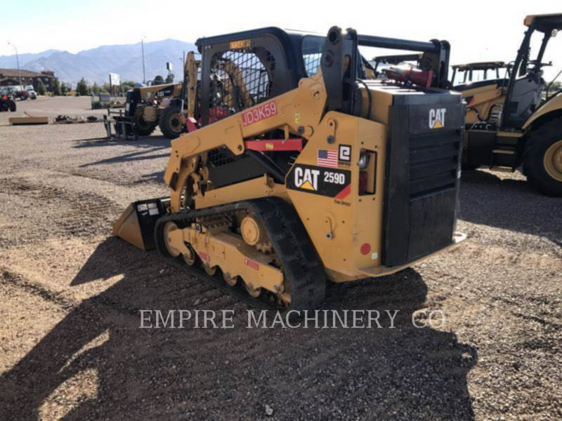 CATERPILLAR KOMPAKTLADER 259D equipment  photo 3