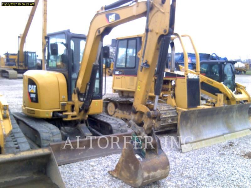 CATERPILLAR TRACK EXCAVATORS 305E CR equipment  photo 2