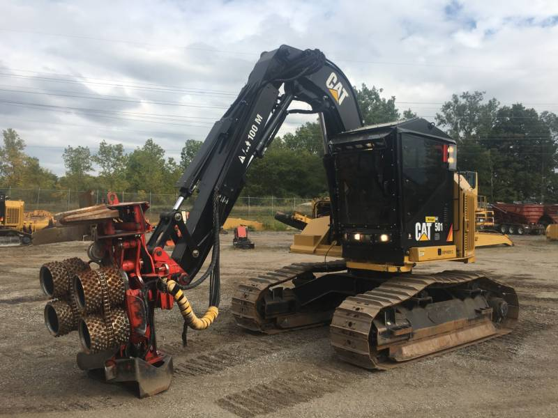 CATERPILLAR FORESTRY - FELLER BUNCHERS - TRACK 501HD equipment  photo 1