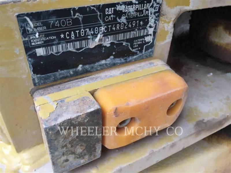 CATERPILLAR CAMIONES ARTICULADOS 740B TG equipment  photo 13