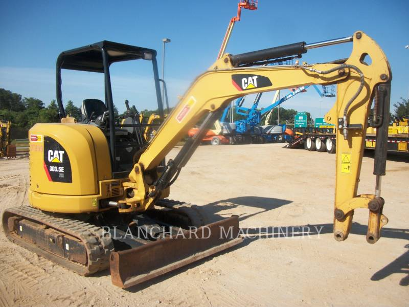 CATERPILLAR KOPARKI GĄSIENICOWE 303.5E equipment  photo 1