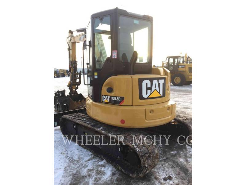 CATERPILLAR KETTEN-HYDRAULIKBAGGER 305.5E2C3T equipment  photo 3