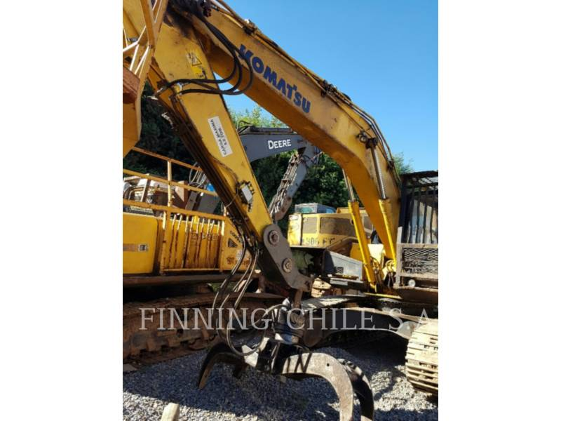 KOMATSU EXCAVADORAS DE CADENAS PC200LC equipment  photo 6