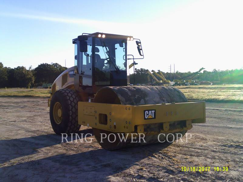 CATERPILLAR TAMBOR DOBLE VIBRATORIO ASFALTO CS66BCAB equipment  photo 4