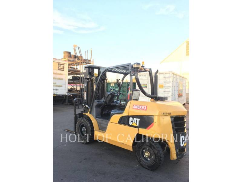 CATERPILLAR MITSUBISHI FORKLIFTS DP50CN equipment  photo 4