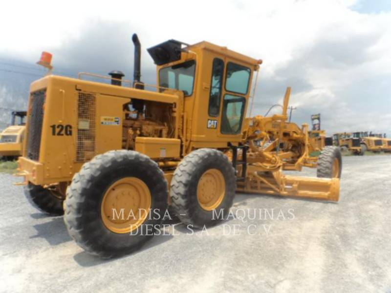 CATERPILLAR NIVELEUSES POUR MINES 12G equipment  photo 3