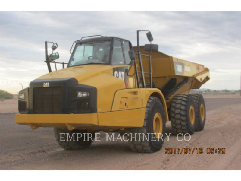 CATERPILLAR CAMIONES ARTICULADOS 740B equipment  photo 6