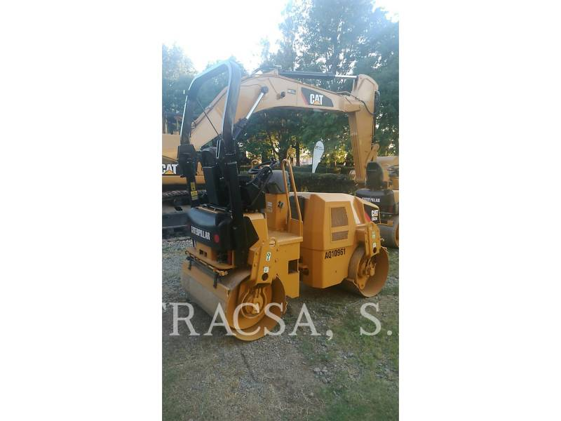 CATERPILLAR TANDEMVIBRATIONSWALZE, ASPHALT CB24 equipment  photo 6
