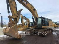 CATERPILLAR TRACK EXCAVATORS 349E L THM equipment  photo 1