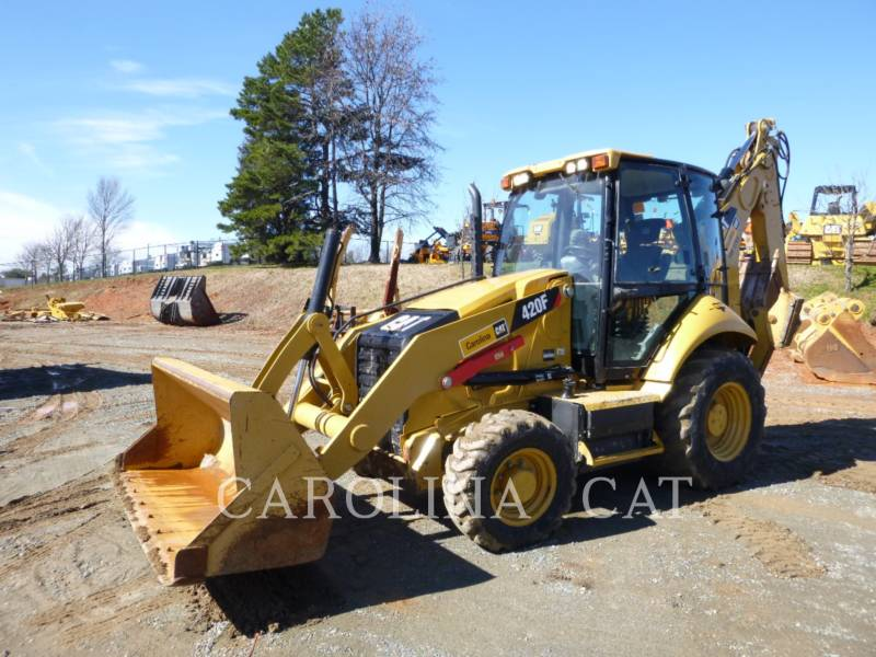 CATERPILLAR BACKHOE LOADERS 420F CB equipment  photo 3