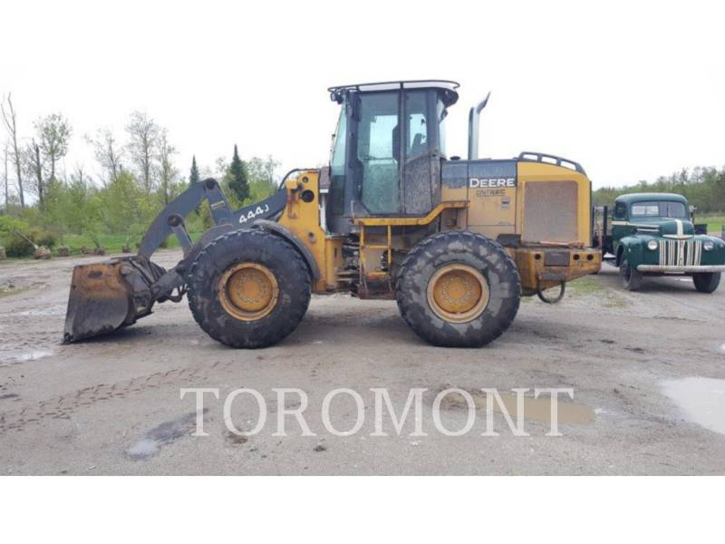 DEERE & CO. WHEEL LOADERS/INTEGRATED TOOLCARRIERS 444J equipment  photo 4