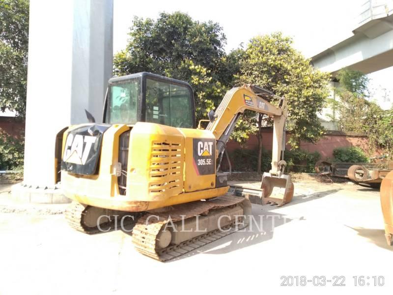 CATERPILLAR TRACK EXCAVATORS 305.5E2 equipment  photo 1