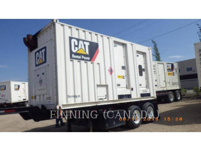 CATERPILLAR TRANSPORTABLE STROMAGGREGATE XQ 600 equipment  photo 1