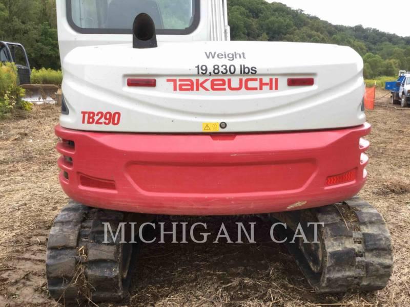 TAKEUCHI MFG. CO. LTD. PELLES SUR CHAINES TB290 equipment  photo 16