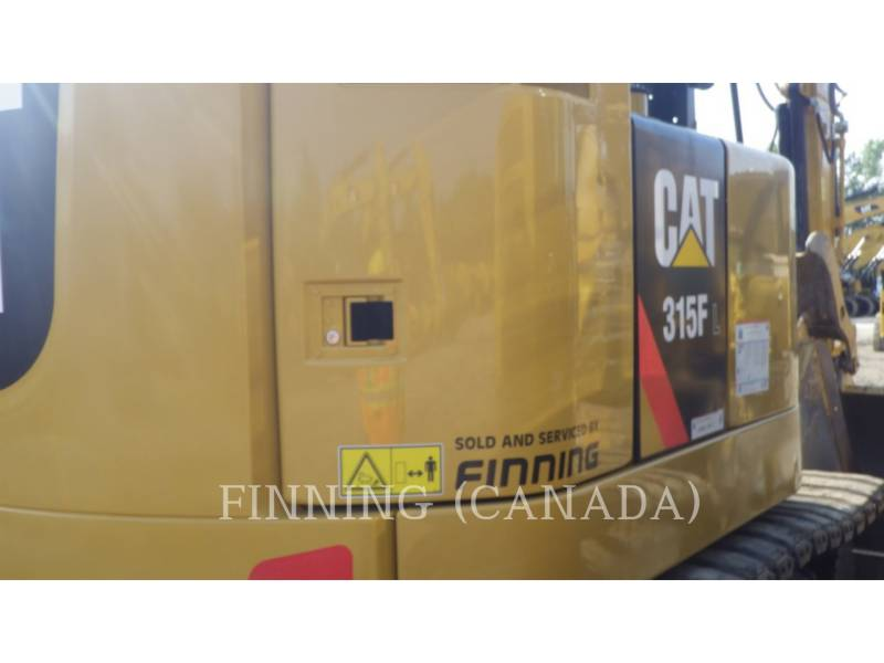 CATERPILLAR ESCAVATORI CINGOLATI 315FLCR equipment  photo 5