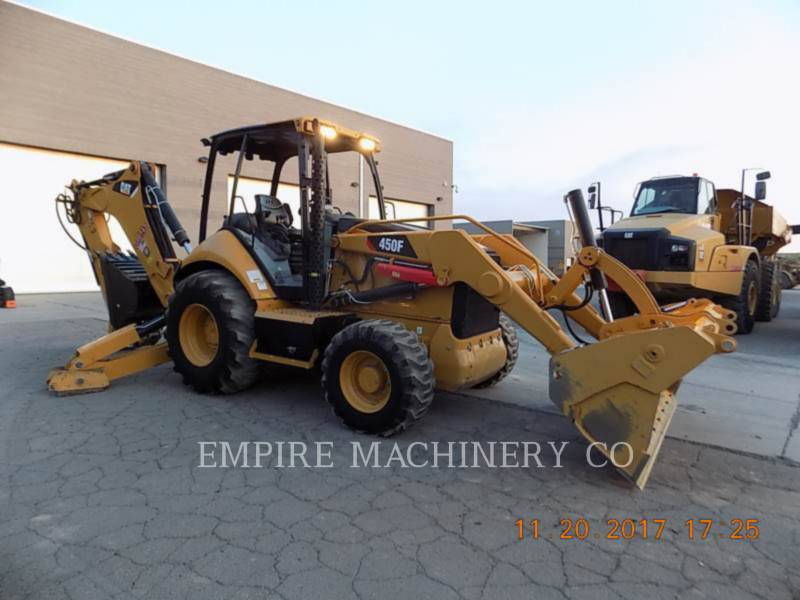 CATERPILLAR RETROESCAVADEIRAS 450F 4EOMP equipment  photo 1