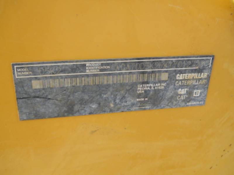 CATERPILLAR TRACTORES DE CADENAS D5K2LGP equipment  photo 24