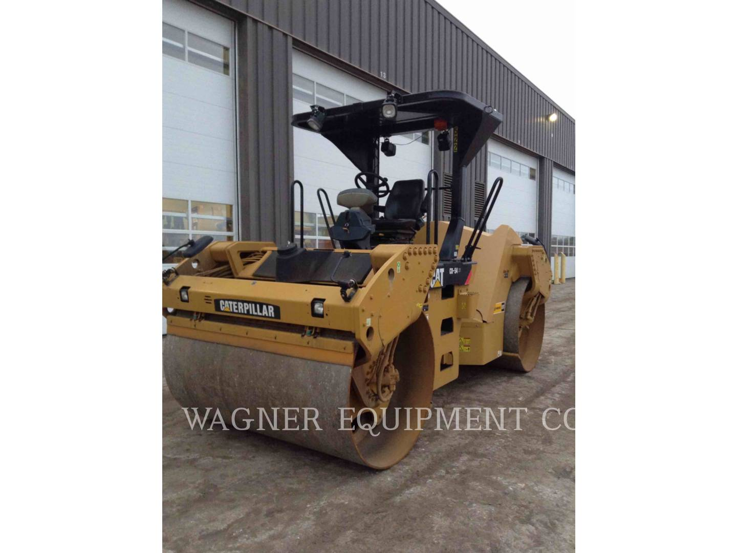Detail photo of 2011 Caterpillar CB54 from Construction Equipment Guide