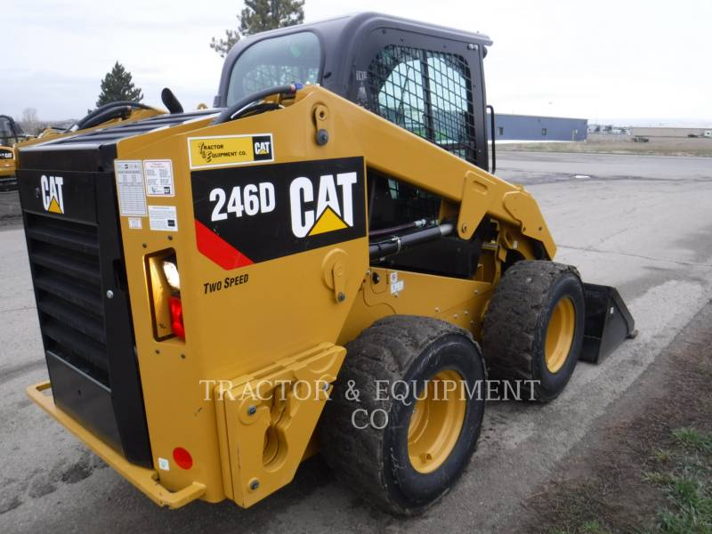 CATERPILLAR CHARGEURS COMPACTS RIGIDES 246D H2CB equipment  photo 6