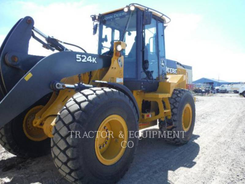 JOHN DEERE CARGADORES DE RUEDAS 524K equipment  photo 1