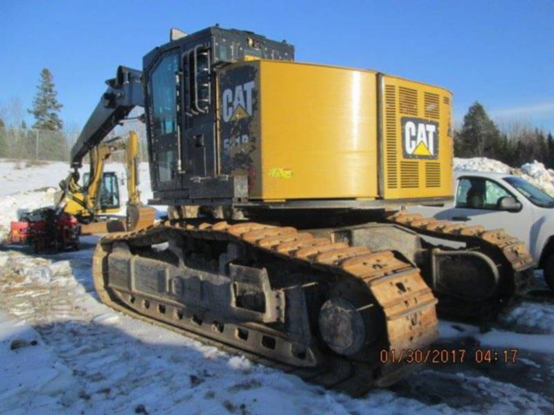 CATERPILLAR FORESTRY - HARVESTER 521B equipment  photo 1