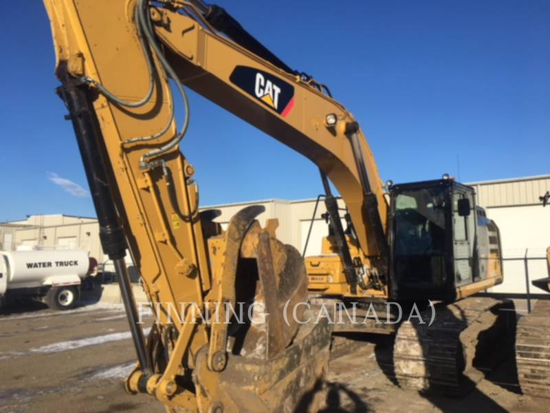CATERPILLAR KETTEN-HYDRAULIKBAGGER 329F equipment  photo 1