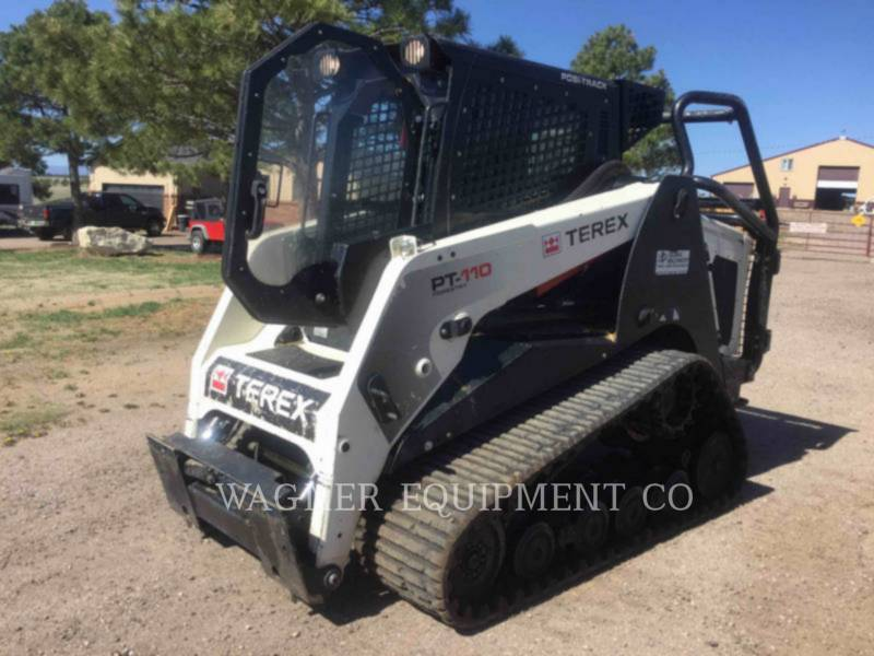 TEREX CORPORATION SKID STEER LOADERS PT110F equipment  photo 1