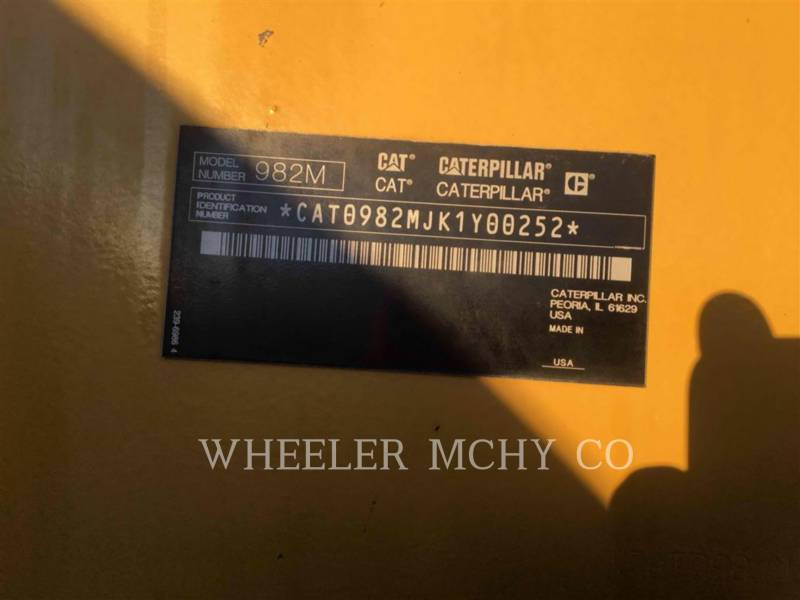 CATERPILLAR WHEEL LOADERS/INTEGRATED TOOLCARRIERS 982M AOC equipment  photo 5