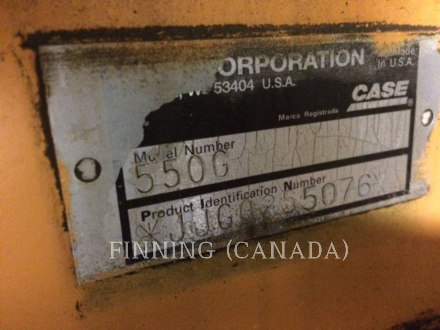 Detail photo of 1997 Case 550G from Construction Equipment Guide