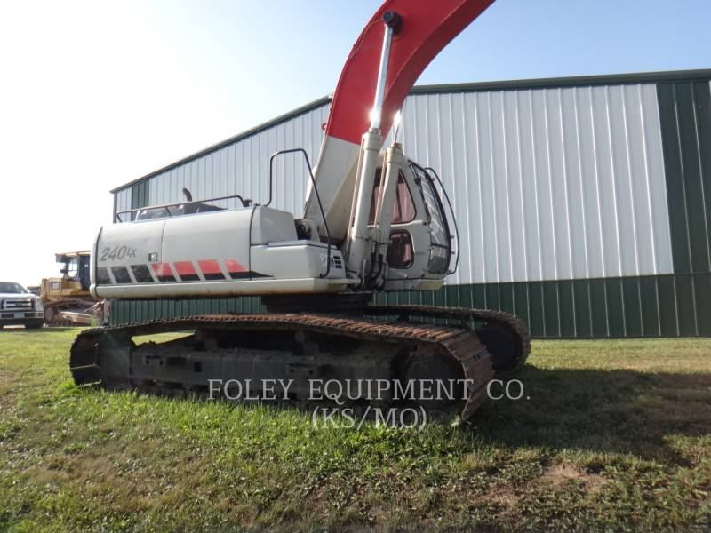 LINK-BELT CONSTRUCTION TRACK EXCAVATORS 240LXLF equipment  photo 4