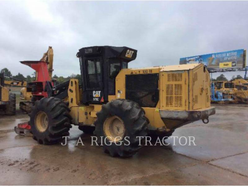 CATERPILLAR FORESTRY - FELLER BUNCHERS - WHEEL 573C equipment  photo 4