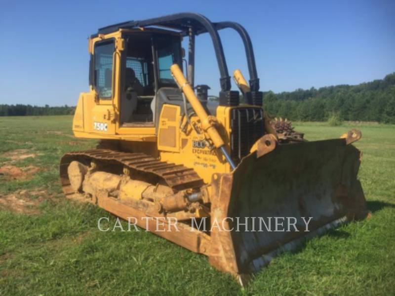 DEERE & CO. TRACK TYPE TRACTORS DER 750C equipment  photo 1