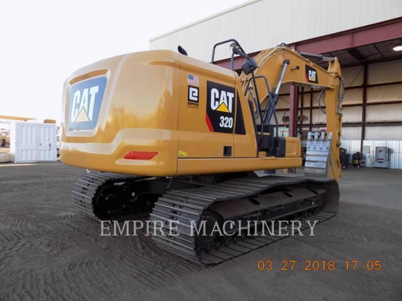 CATERPILLAR ESCAVATORI CINGOLATI 320-07 equipment  photo 2