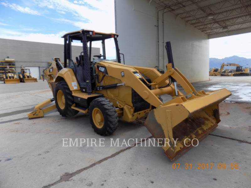 CATERPILLAR RETROEXCAVADORAS CARGADORAS 416F2 4EO equipment  photo 1