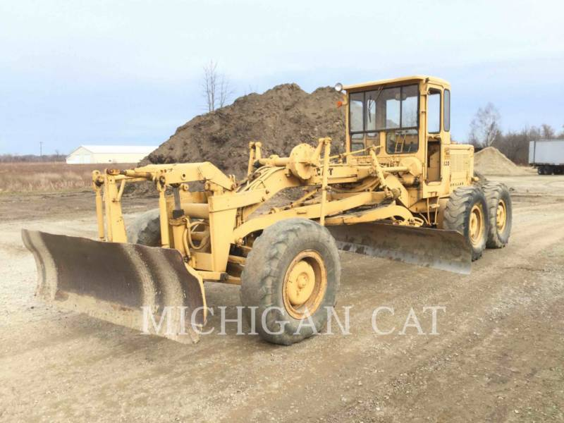 CATERPILLAR NIVELEUSES 120 equipment  photo 2