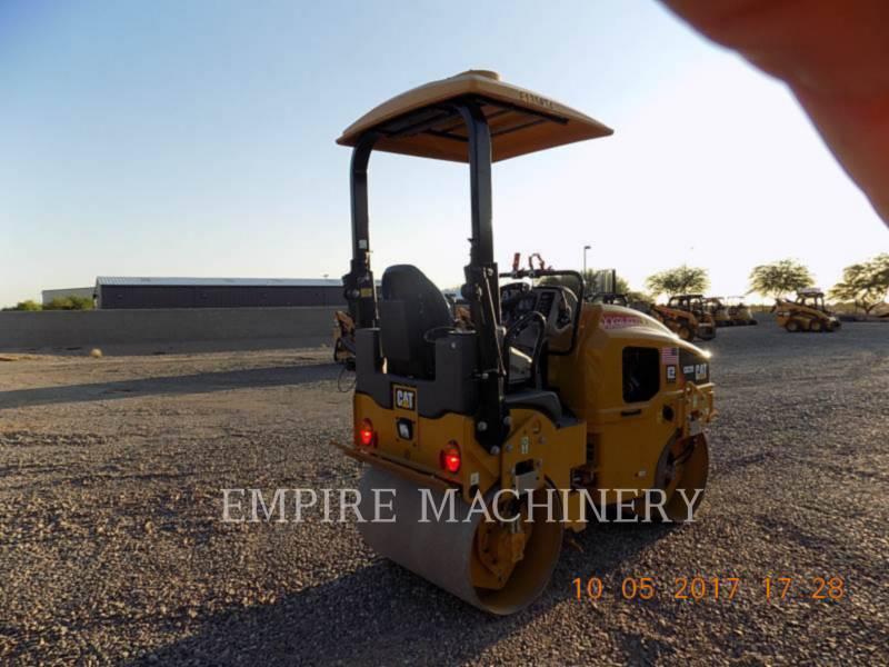 CATERPILLAR TANDEMOWY WALEC WIBRACYJNY DO ASFALTU (STAL-STAL) CB22B equipment  photo 2