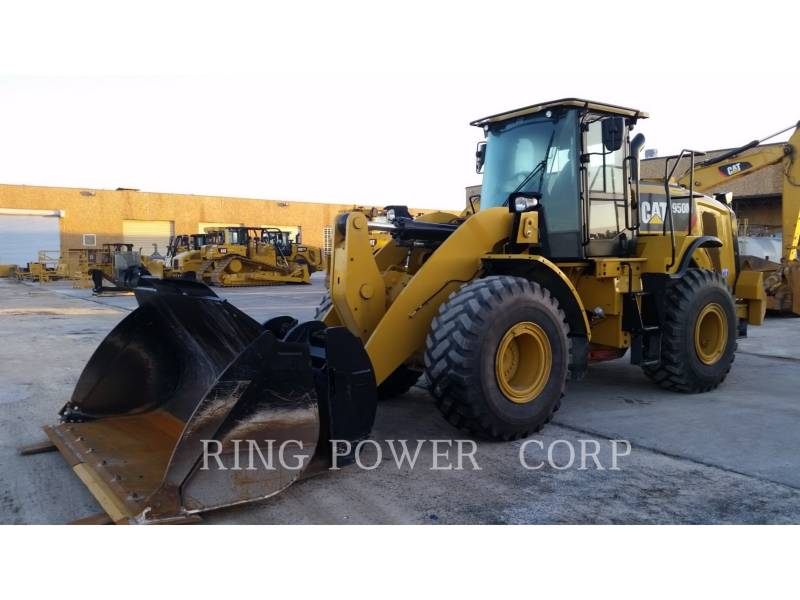 CATERPILLAR WHEEL LOADERS/INTEGRATED TOOLCARRIERS 950M3VQC equipment  photo 1