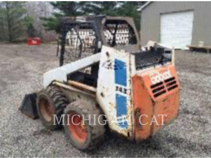 BOBCAT SKID STEER LOADERS 743 equipment  photo 3