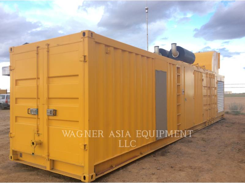 GENSET STATIONARY GENERATOR SETS CAT3516B equipment  photo 3