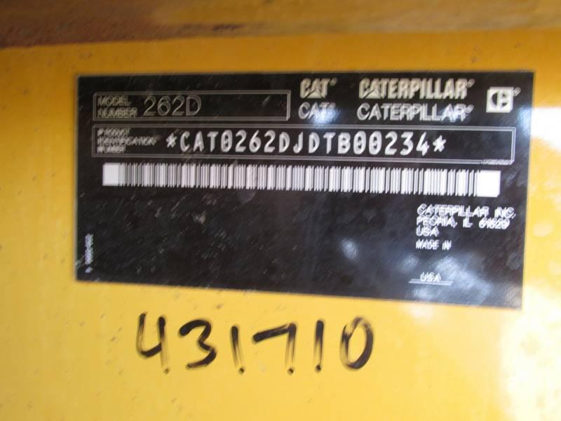 CATERPILLAR MINICARGADORAS 262D equipment  photo 7