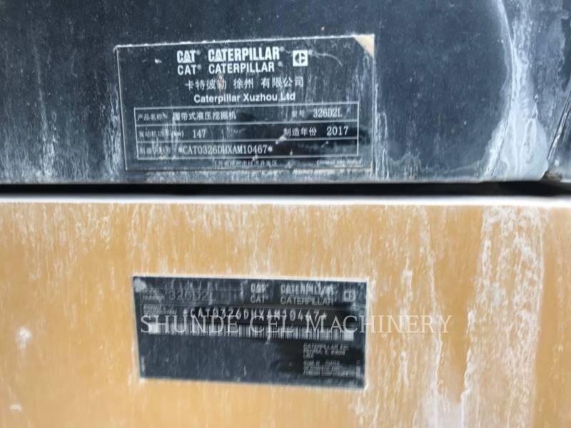 CATERPILLAR TRACK EXCAVATORS 326D2L equipment  photo 3