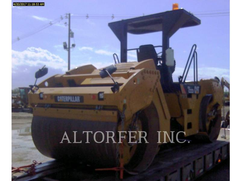 CATERPILLAR VIBRATORY DOUBLE DRUM ASPHALT CB54XW equipment  photo 3