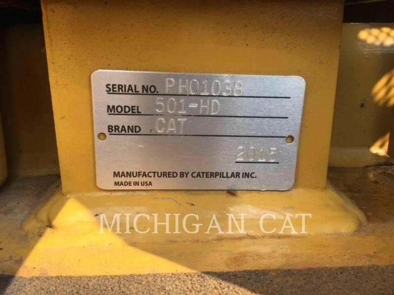CATERPILLAR Leśnictwo - Rozdrabniacz 501HD equipment  photo 20