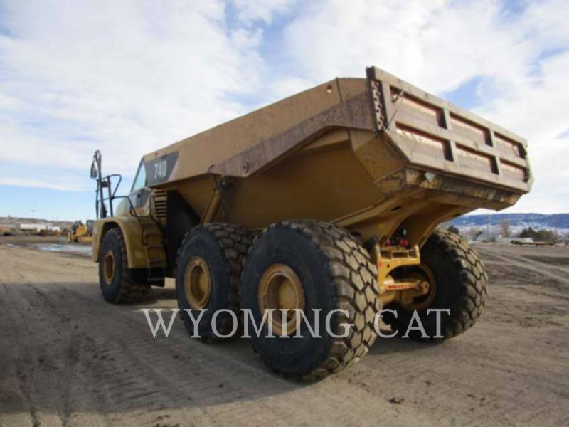 CATERPILLAR DUMPER ARTICOLATI 740 equipment  photo 2