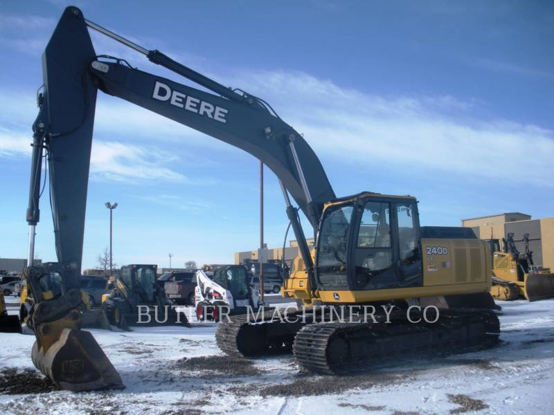 DEERE & CO. ESCAVATORI CINGOLATI 240D equipment  photo 1