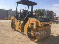 CATERPILLAR TANDEMOWY WALEC WIBRACYJNY DO ASFALTU (STAL-STAL) CB44B equipment  photo 3