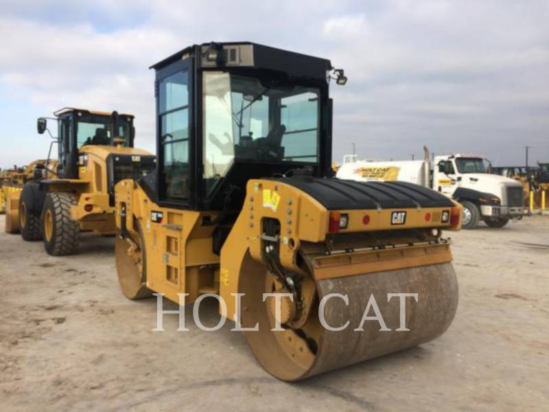 CATERPILLAR TAMBOR ÚNICO VIBRATORIO ASFALTO CB54B CAB equipment  photo 4