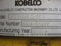KOBELCO / KOBE STEEL LTD TRACK EXCAVATORS SK135 SLRC equipment  photo 5
