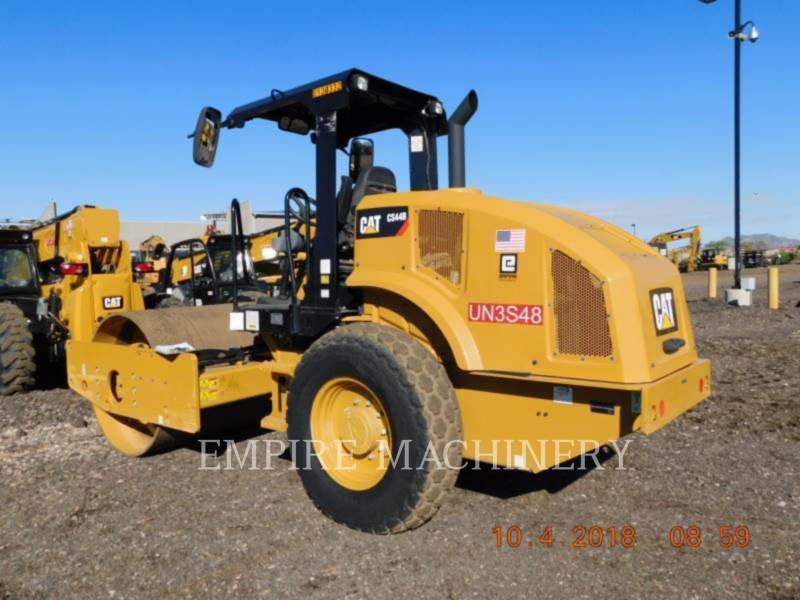 CATERPILLAR EINZELVIBRATIONSWALZE, GLATTBANDAGE CS44B equipment  photo 3