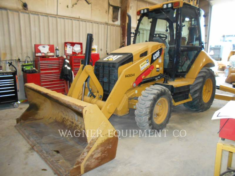 CATERPILLAR BACKHOE LOADERS 430F 4WD equipment  photo 1